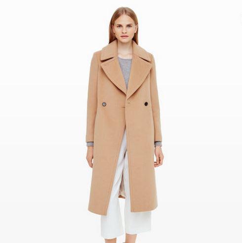 ClubMonaco_Camel Coat