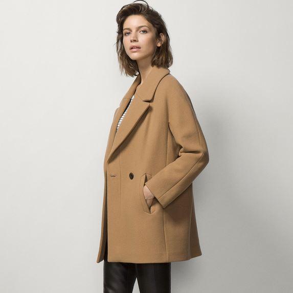 Massimo Dutti_Camel Coat