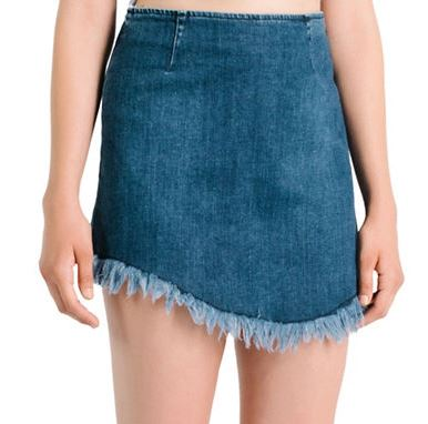 Kendall+Kylie Denim Skirt